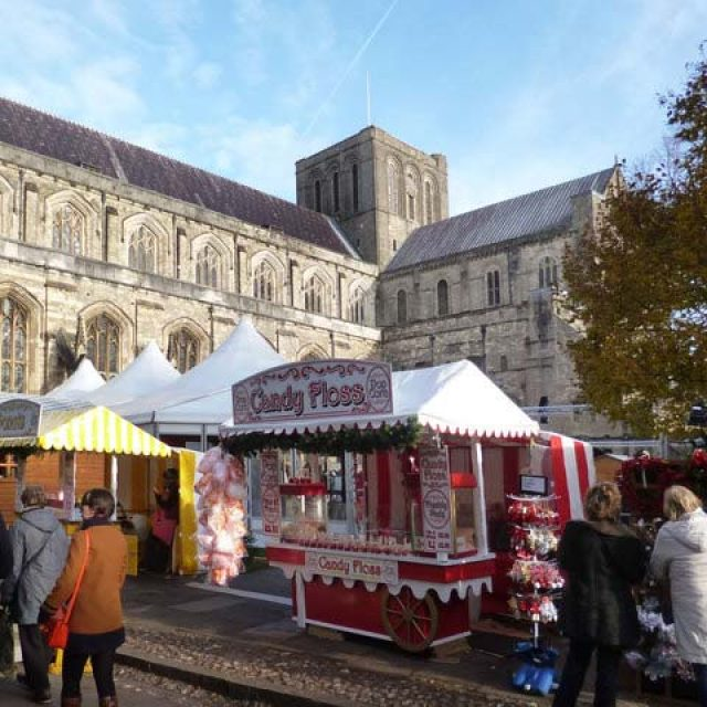 Winchester Cathedral Christmas Market & Ice Rink