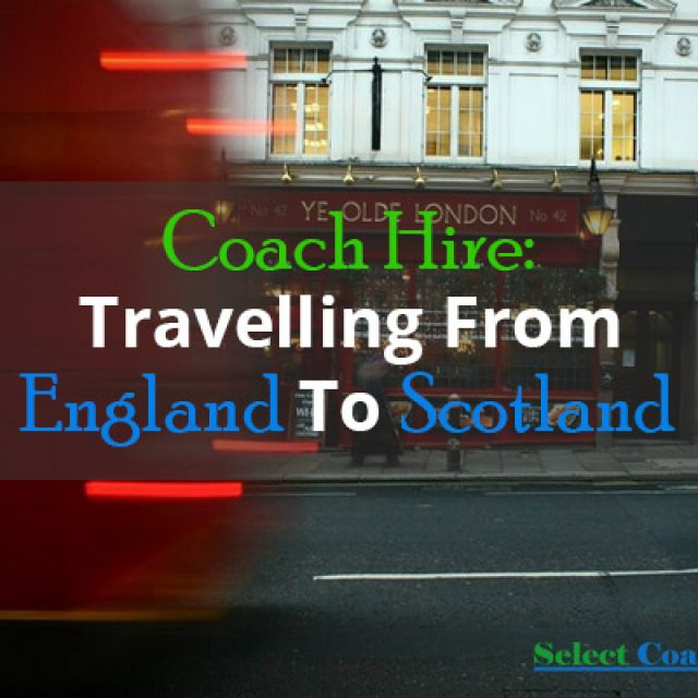 Travelling From England To Scotland